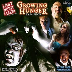 Last Night on Earth: Growing Hunger Cover Artwork