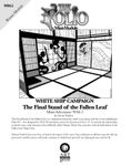 RPG Item: Mini-Adventure WS4.5: The Final Stand of the Fallen Leaf