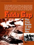 Board Game: Fulda Gap: The First Battle of the Next War