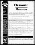 RPG Item: -U- Options: Modifiers