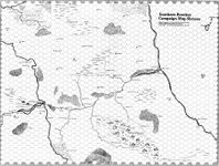 RPG Item: Wilderlands Map 16: Southern Reaches