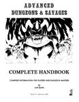 RPG Item: Advanced Dungeons and Savages