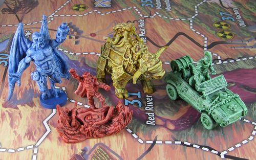Board Game: Defenders of the Last Stand