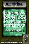 RPG Item: European Castles Floorplans Poster Map Collection 1