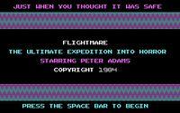 Video Game: Flightmare