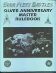 Board Game: Star Fleet Battles Silver Anniversary Master Rulebook