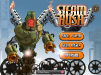 Video Game: Steam Rush - The extreme online battle racing game