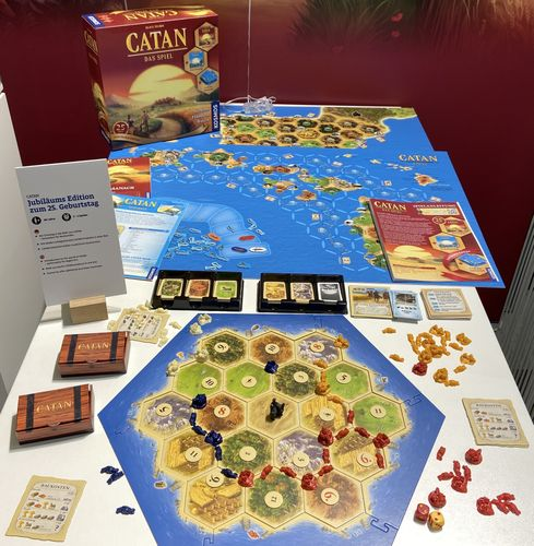 Board Game: Catan: 25 Jahre Jubiläums-Edition