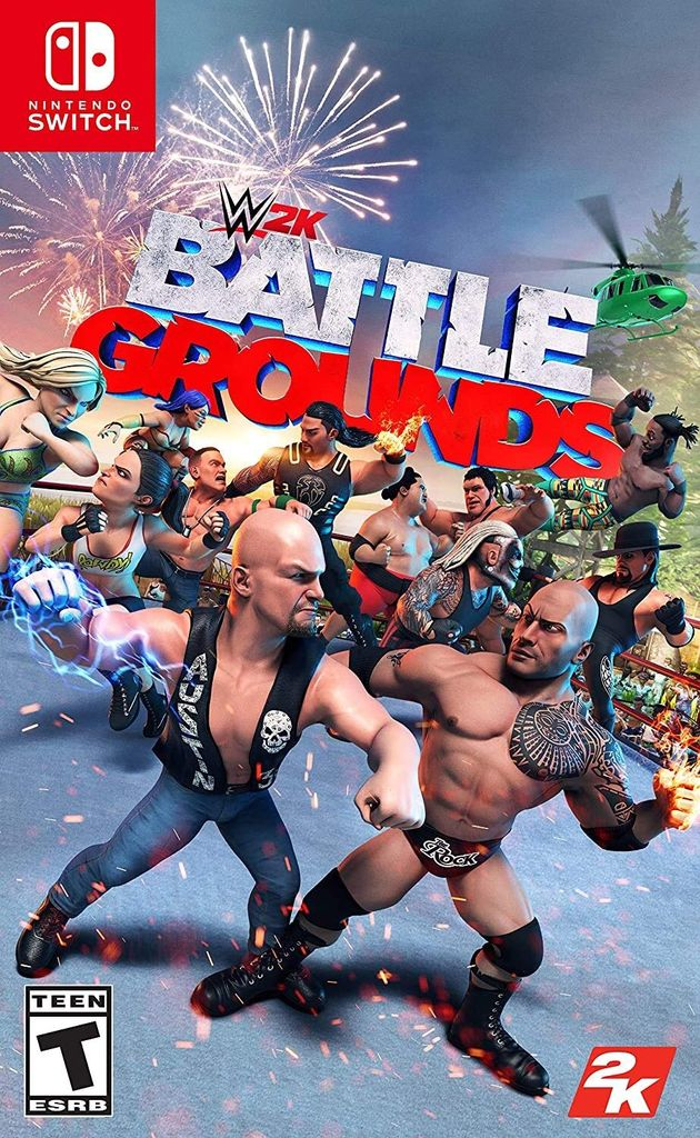 Video Game: Wwe 2k battlegrounds