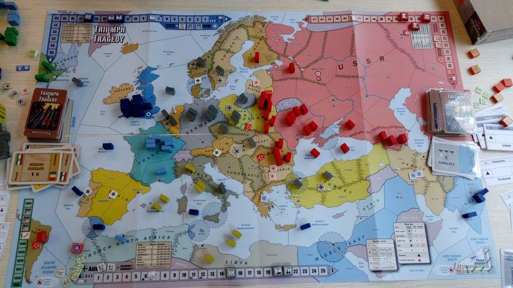 Экономическая победа Оси без глобальной войны