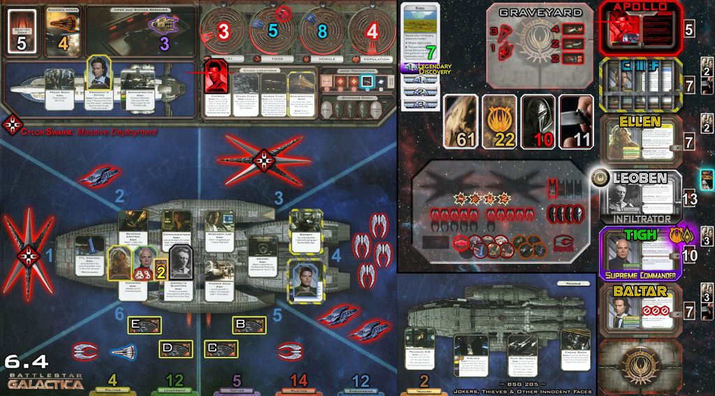 BSG Creativity and Imaging thread | Battlestar Galactica: The Board ...