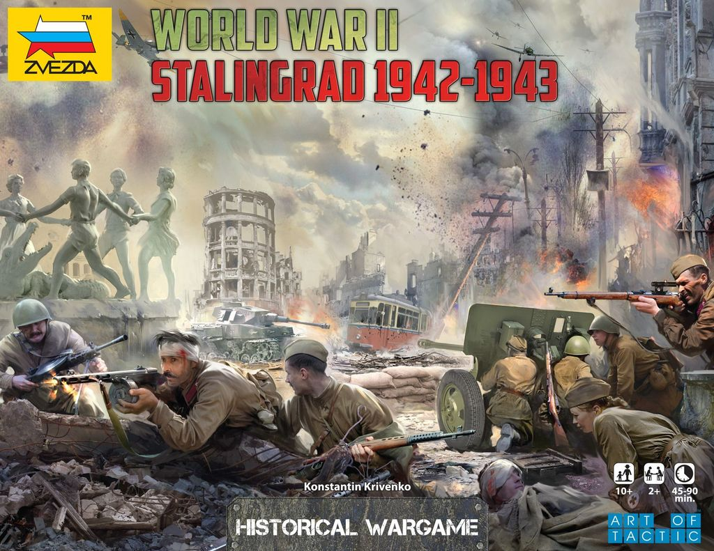 Board Game: World War II: Stalingrad 1942-1943