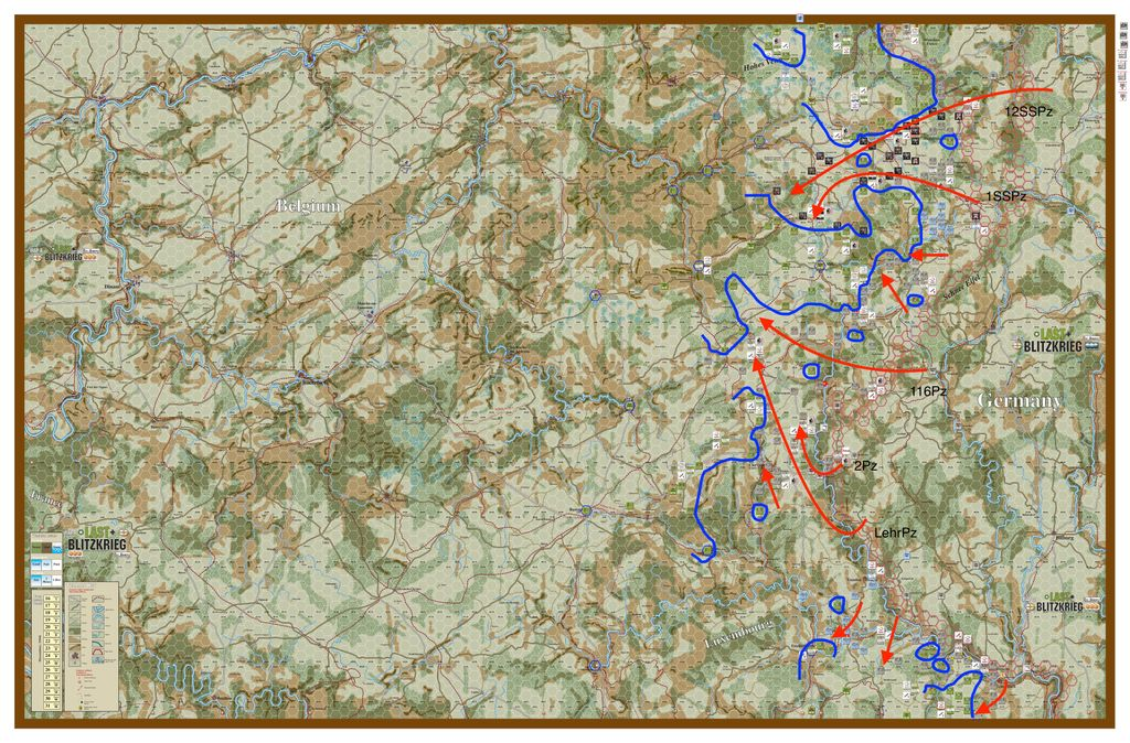 The Full Campaign - Illustrated AAR Day5 | Last Blitzkrieg