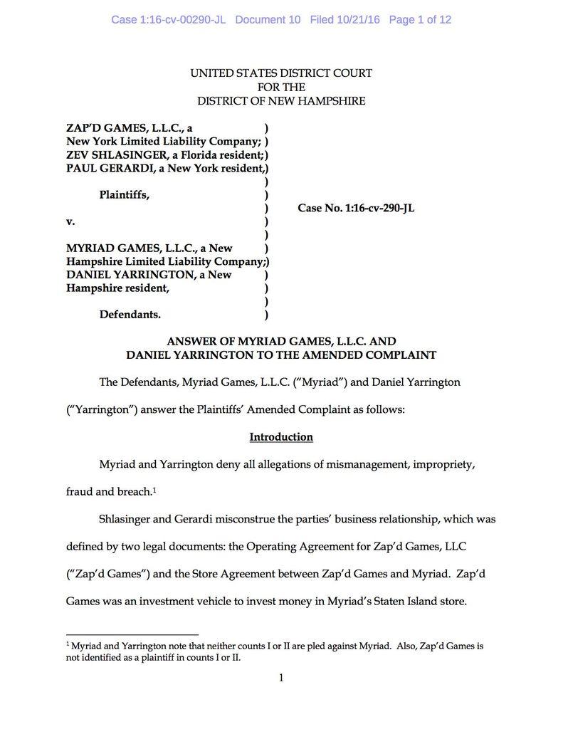 Sample legal complaint breach contract