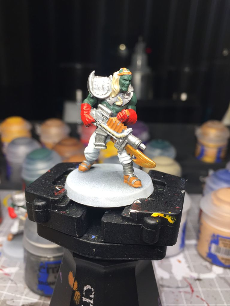 How i paint Necromutant | Siege of the Citadel | BoardGameGeek