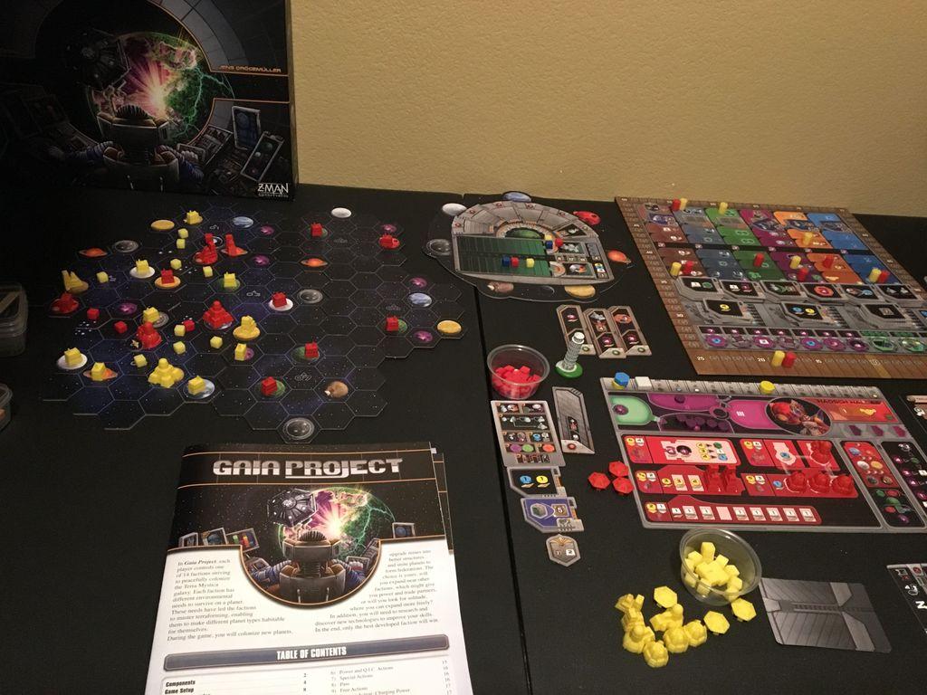 Board Game: Gaia Project