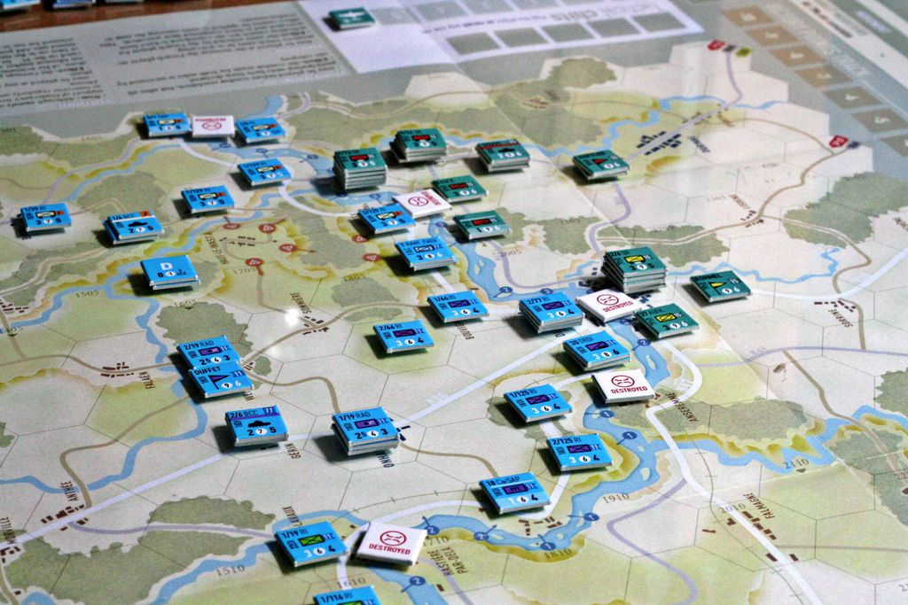 Board Game: War of Tanks: France 1940 – The Breakthrough at Dinant