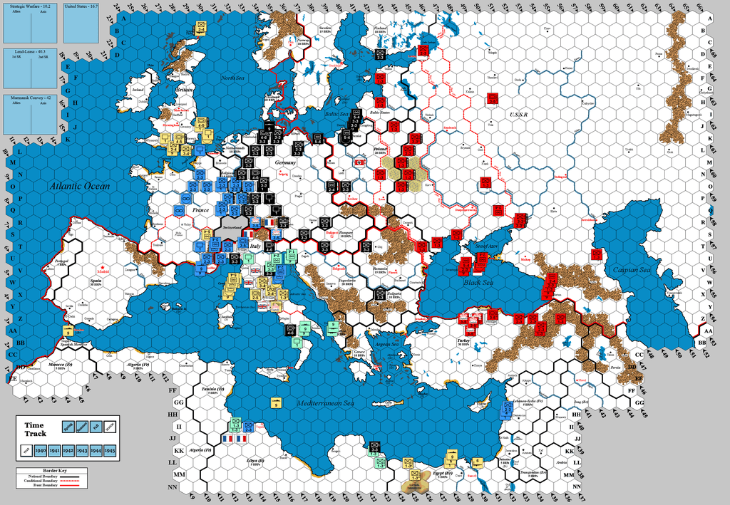 A legendary 3R game - Part 10: Winter 1939 Allied End-of
