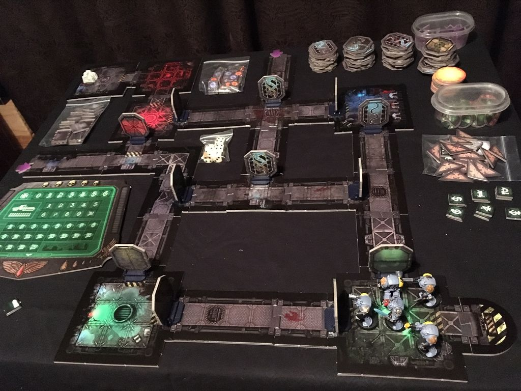 Space Hulk - the Wolfpack's Return to Kalidus | Miniature Games