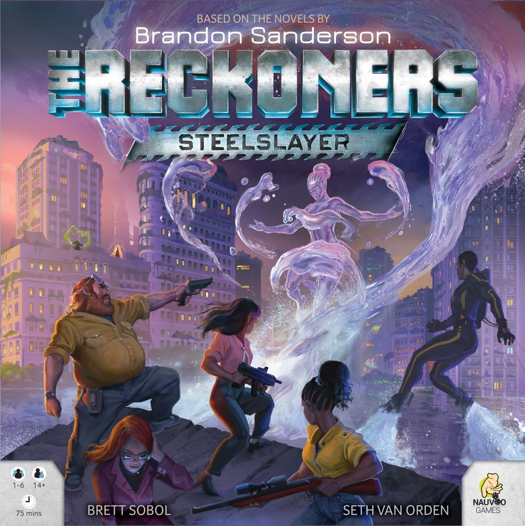 Board Game: The Reckoners: Steelslayer