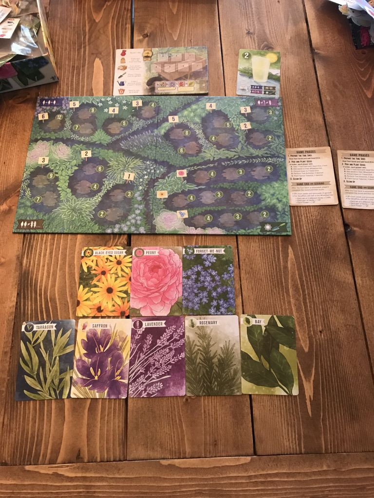 Solo Gaming Herbaceous Sprouts: A Meeple, Myself, and I