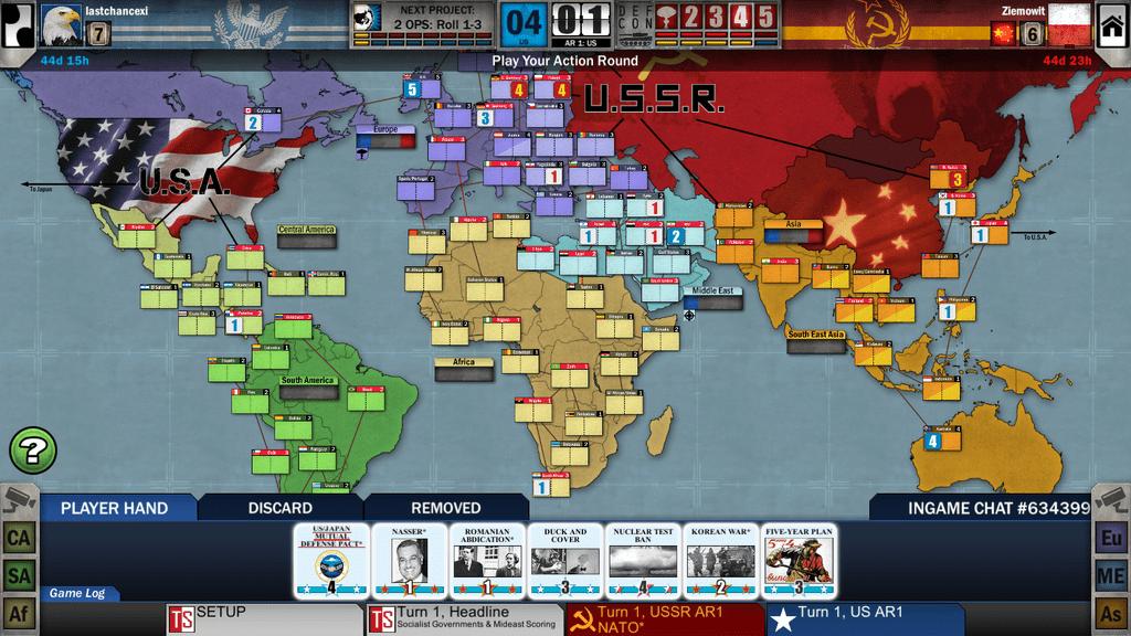 lastchancexi (US+2) vs Ziemowit (USSR) | Twilight Struggle