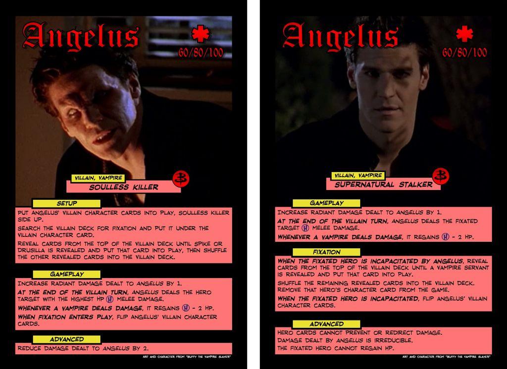 Custom Villain- Angelus (Sentinels of the Buffyverse) | Sentinels of