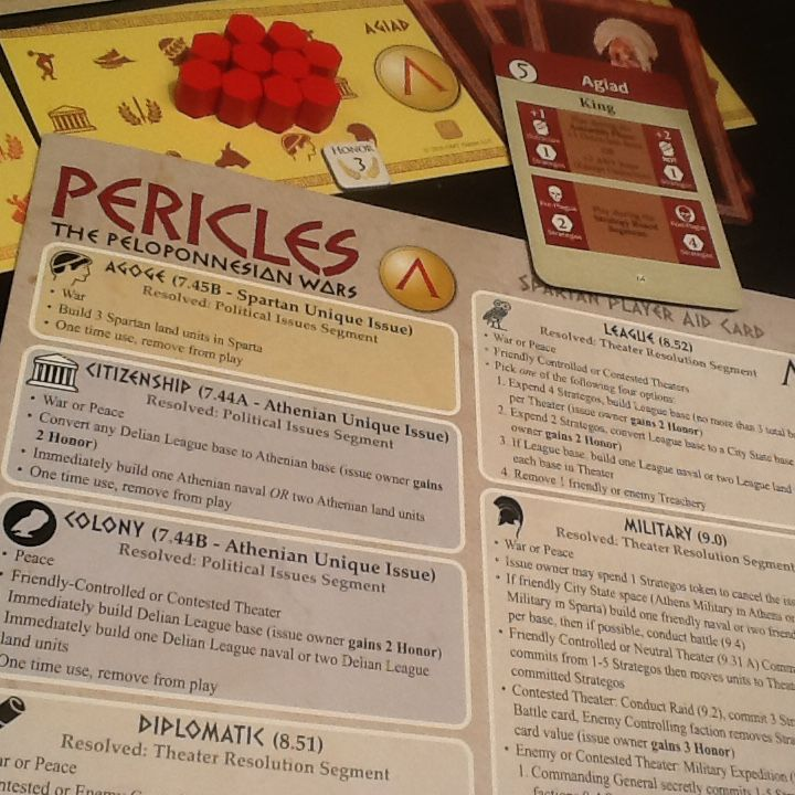 Quick Look at a Game of Solitaire Pericles | Pericles: The