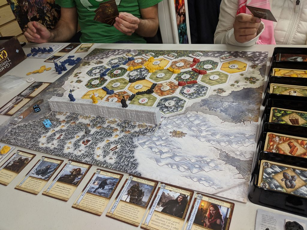 A Game of Thrones Catan: Brotherhood of the Watch, Orbis and
