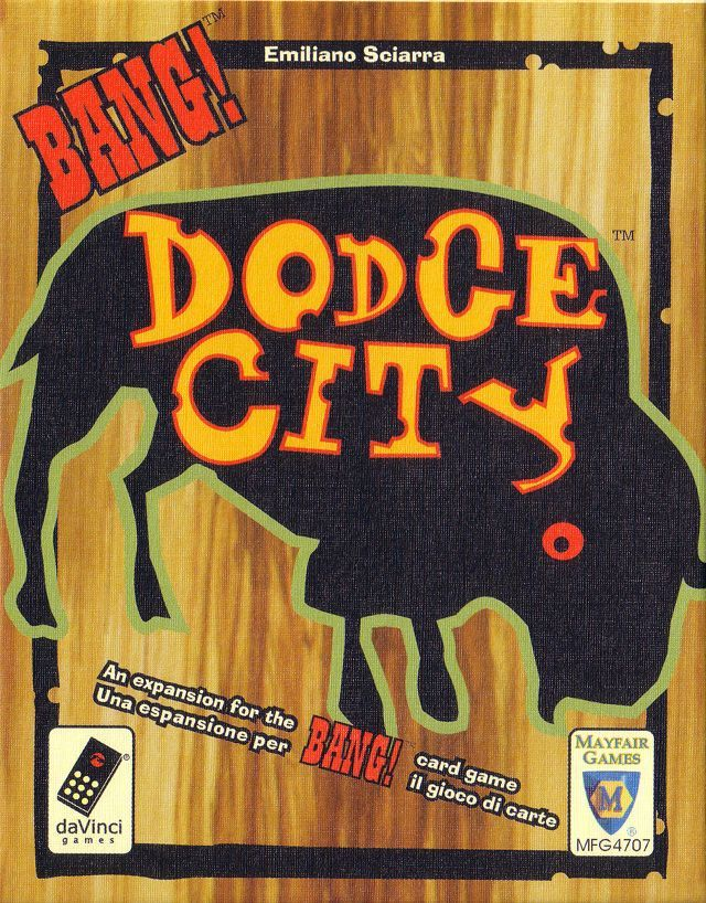 Board Game: BANG! Dodge City