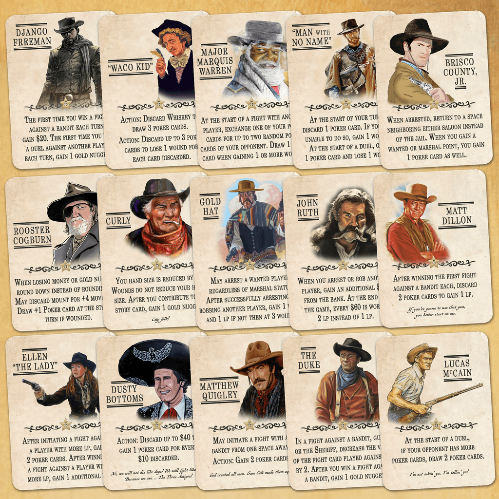 Custom Legends | Western Legends | BoardGameGeek