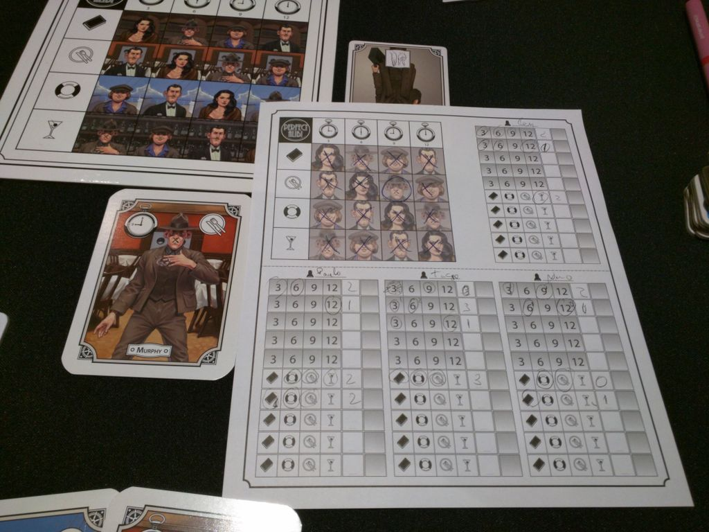 Board Game: Perfect Alibi