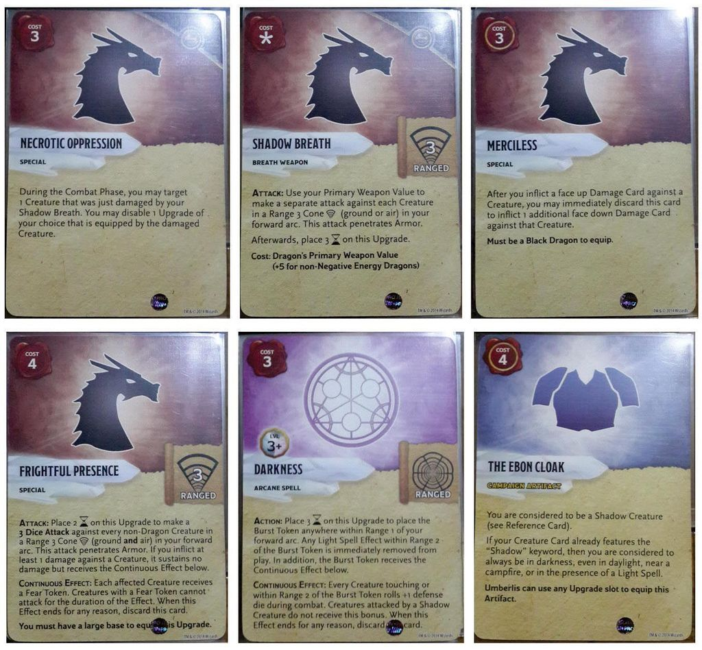 Black Shadow Dragon Expansion Pack | Dungeons & Dragons: Attack Wing