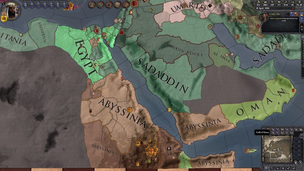 CKII Ironman Play for 2016 VGG Challenge - Abyssinia