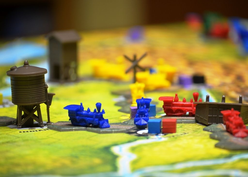 Board Game: Railways of the World