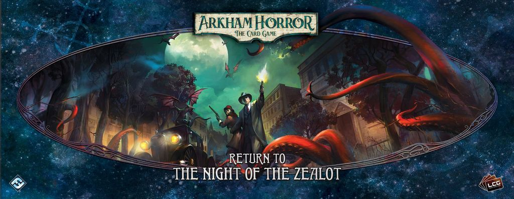 Board Game: Arkham Horror: The Card Game – Return to the Night of the Zealot