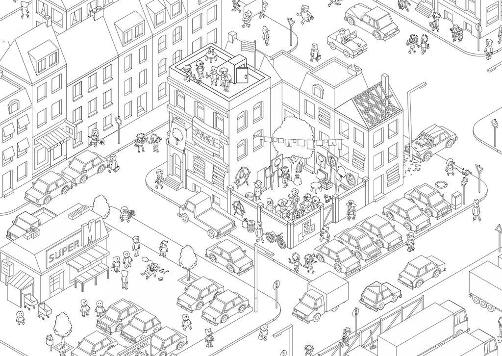 Board Game: MicroMacro: Crime City