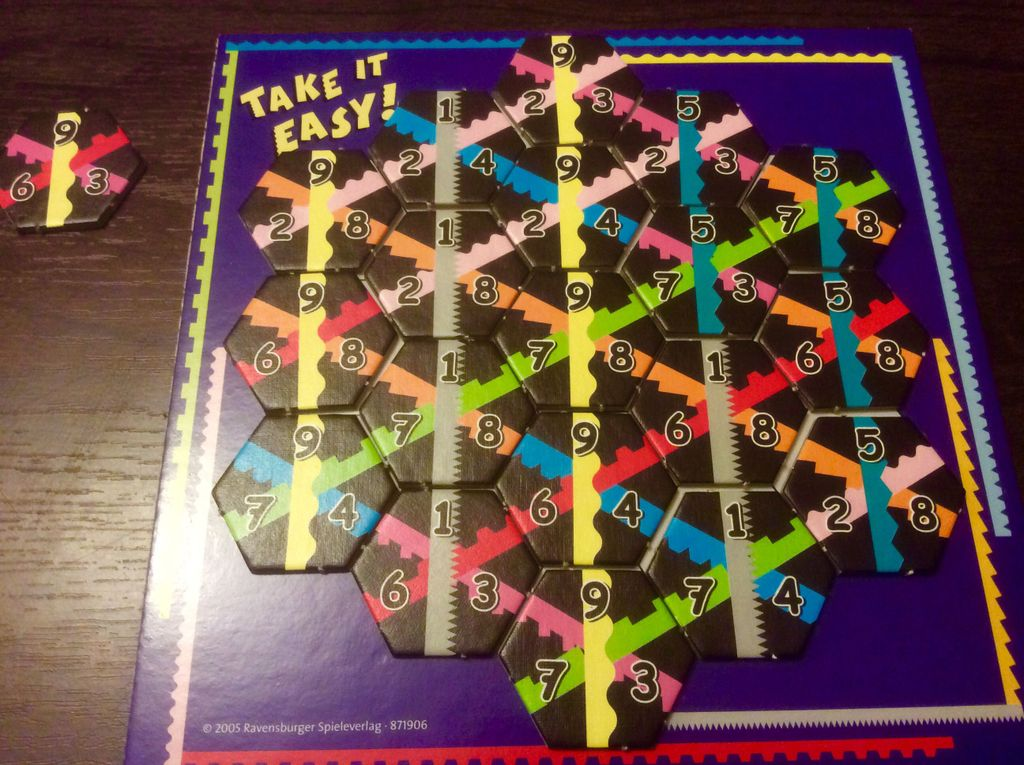 Right Lines | It Beats Watching The TV | BoardGameGeek