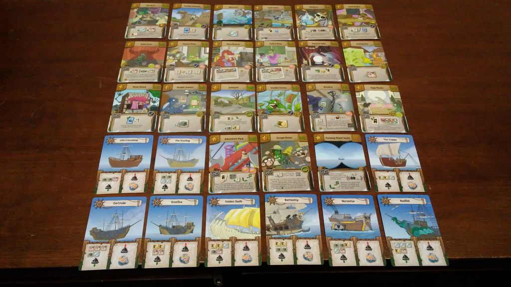 ce587263c As I mentioned above, this expansion comes with 30 new cards. All of the  cards are packed inside a small tuck box along with a folded rules sheet.