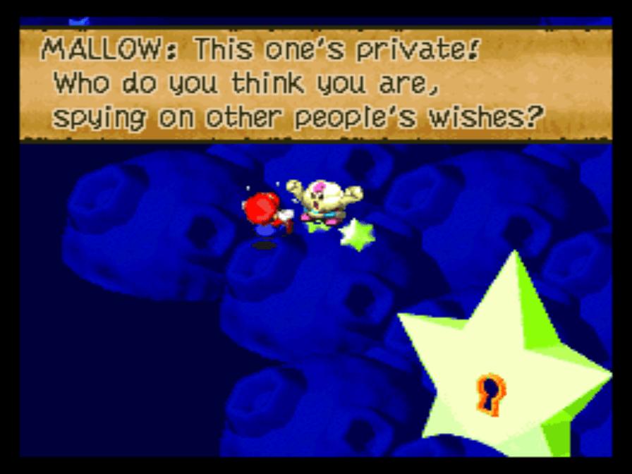 Video Game: Super Mario RPG: Legend of the Seven Stars