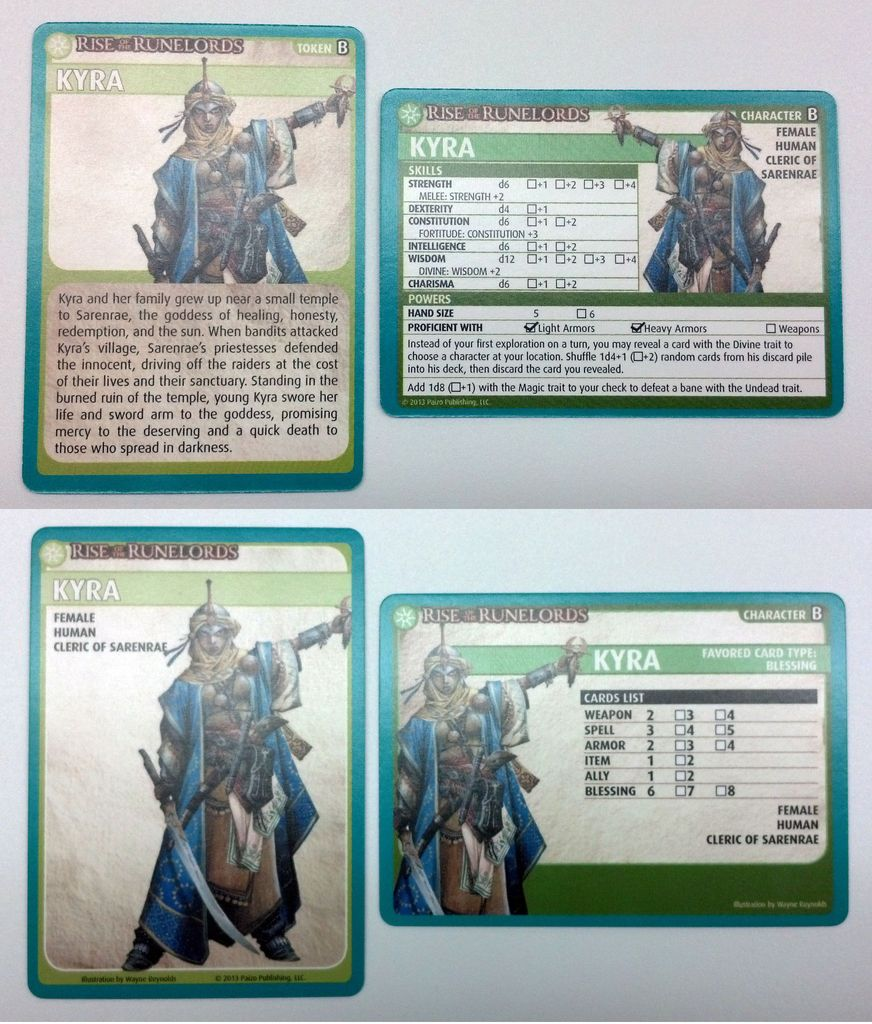 Character Discussion: Kyra | Pathfinder Adventure Card Game: Rise of