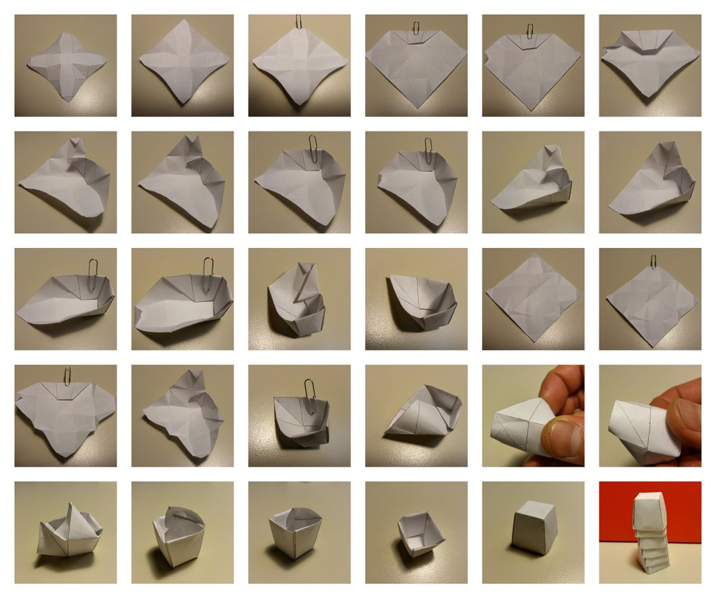 How to make Origami Sumo Wrestler Wrestling Game おすもうさん紙 ... | 856x1024