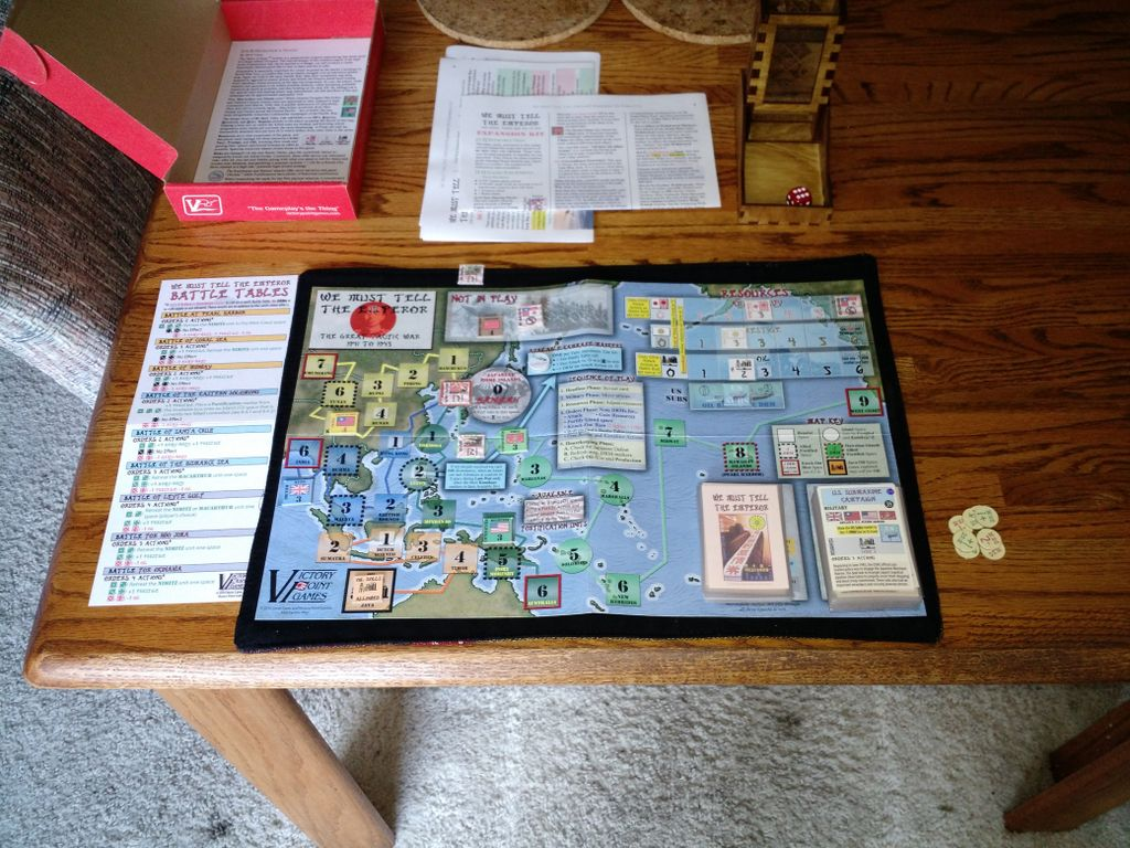 Board Game: We Must Tell the Emperor