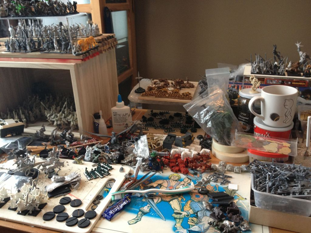 Metal and Large | Miniature Games Construction Yard