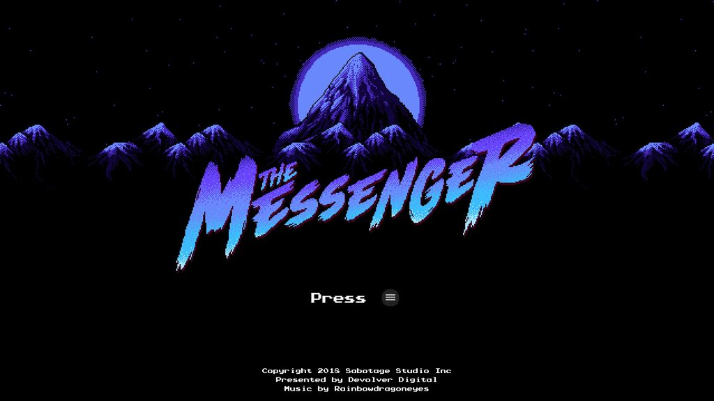 Video Game: The Messenger (2018)