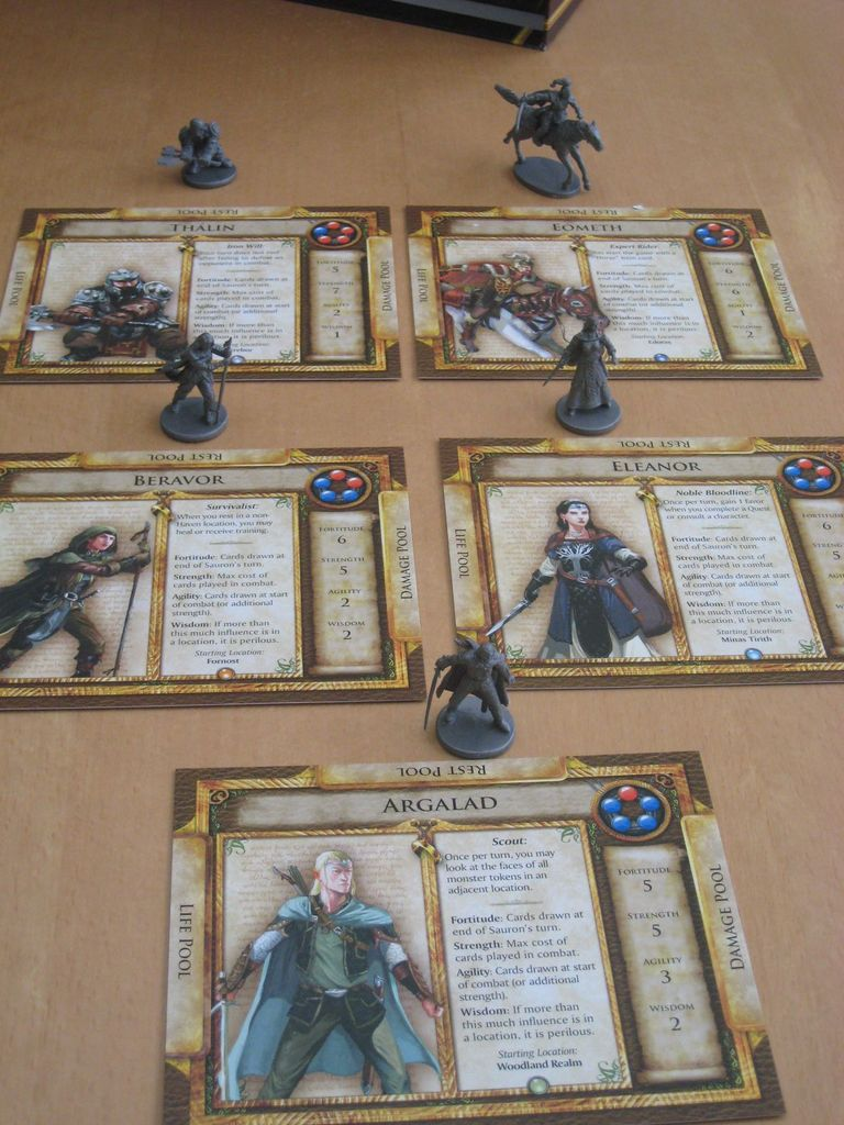 Board Game: Middle-Earth Quest