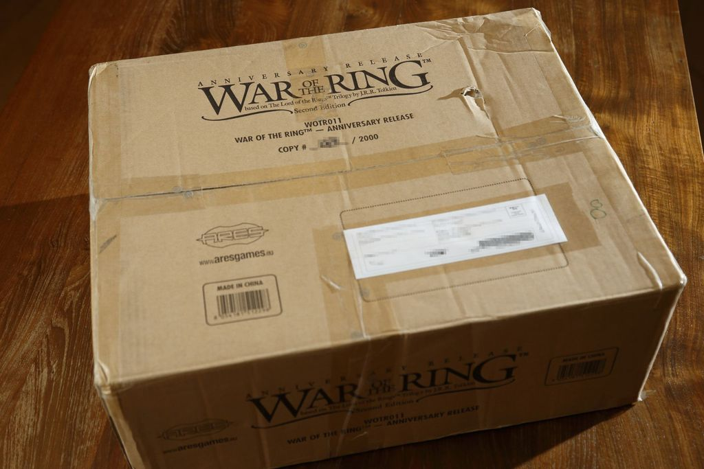 War Of The Ring Rules First Edition