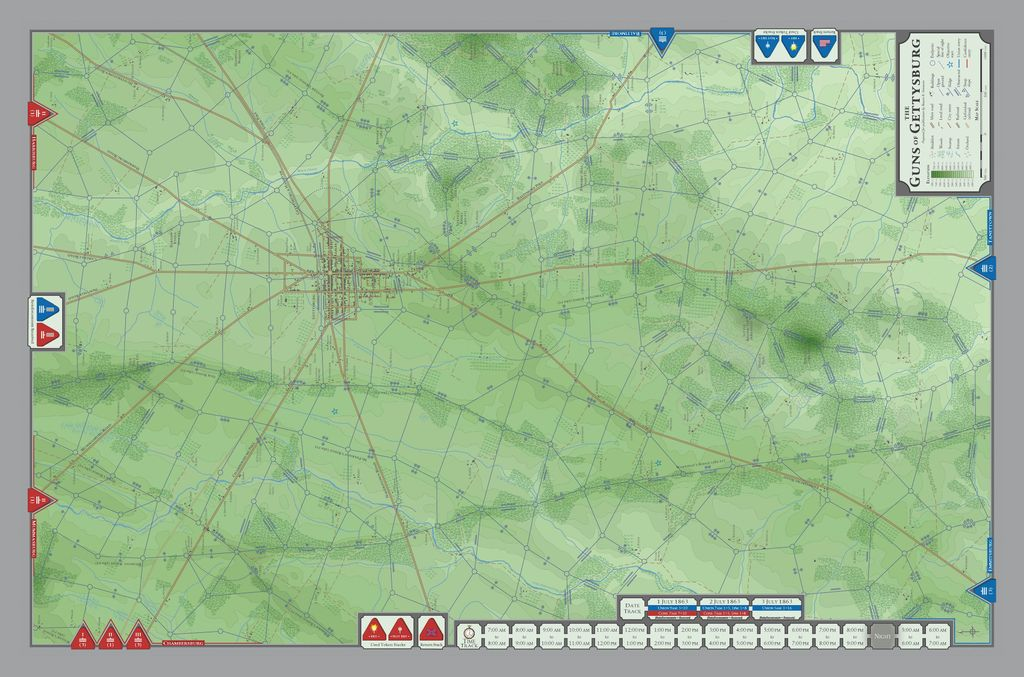 Original WWII tactical maps? Influence on game maps? | Wargames