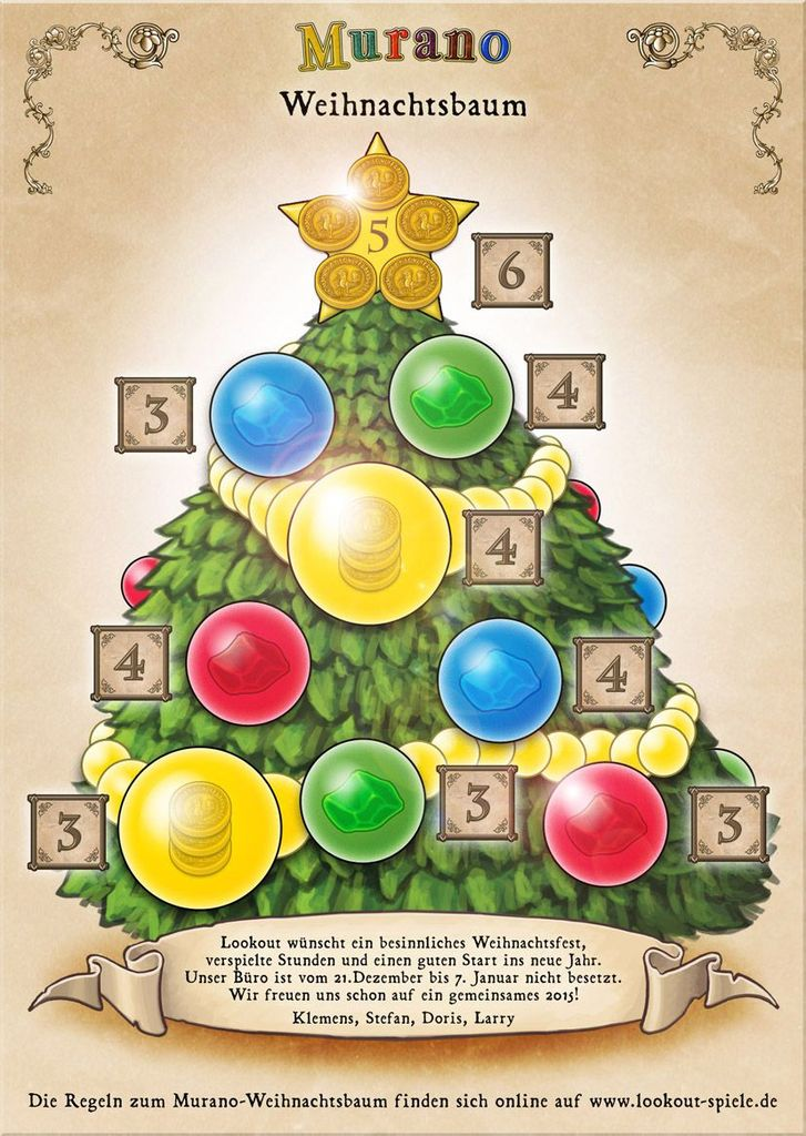 Weihnachtsbaum Spiele.Where To Find On The Lookout Spiele Website Murano The Christmas