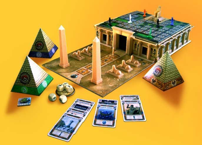 Board Game: Cleopatra and the Society of Architects
